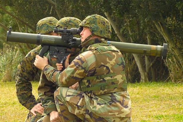Gwardia Krajowa miałaby być wyposażona m.in. w granatniki - fot. Wikipedia