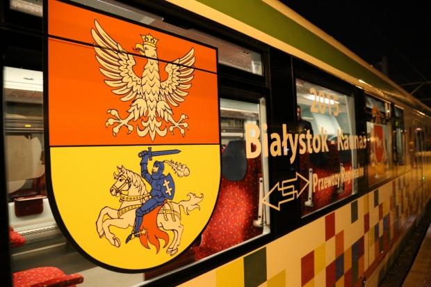 Ruszył pierwszy pociąg z Białegostoku do Kowna. To część trasy Rail Baltica