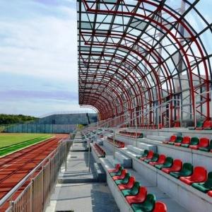 Stadion w Barcinie