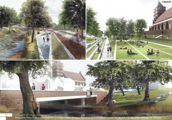 Olsztyn buduje planty i realizuje ideę miasta ogrodu