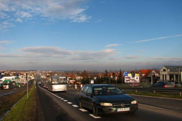 Kaczyński: konieczna przebudowa zakopianki do Nowego Targu
