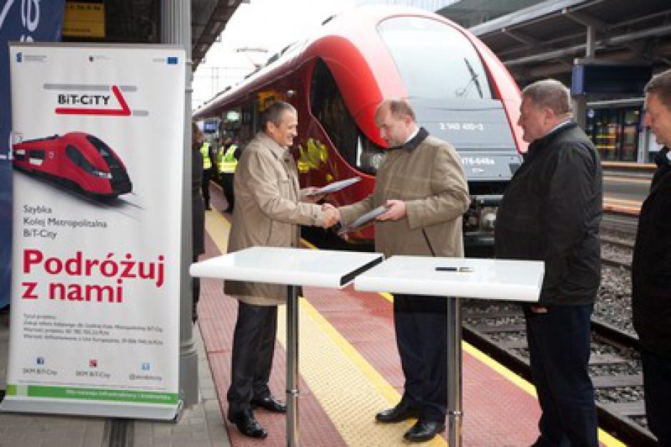 Kujawsko-pomorskie kupi nowy pociąg dla linii Bydgoszcz-Toruń