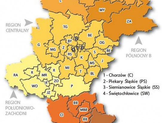 Pięć metropolii w Śląskiem. Województwo czeka rozbicie dzielnicowe?