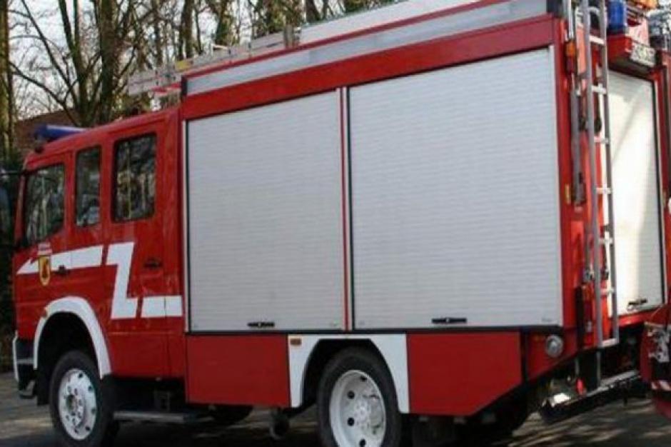 Wybory parlamentarne 2015: pożar budynku lokalu wyborczego w Biskupinie