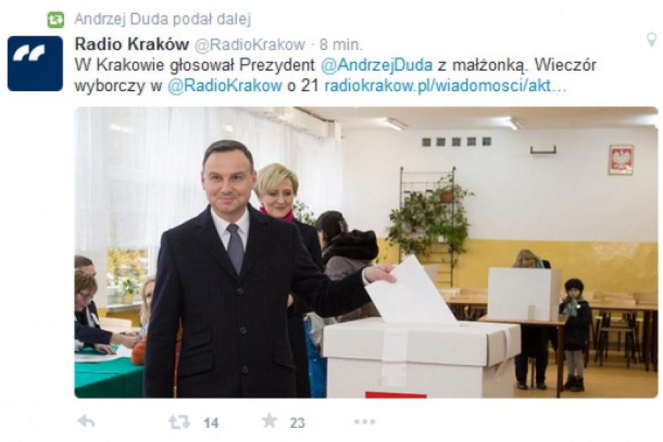 Wybory parlamentarne 2015: politycy i kościelni hierarchowie głosują