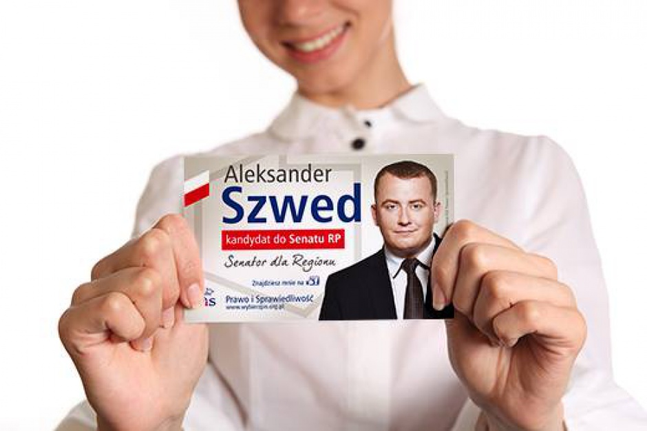 Wybory parlamentarne 2015: Aleksander Szwed senatorem