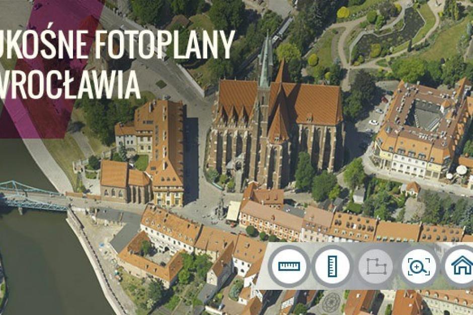 Wrocław ma ukośne fotomapy dla obszarów zabudowy