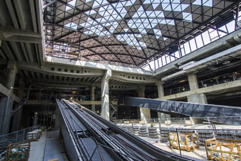 Łódź Fabryczna: pierwszy pociąg wjechał do tunelu