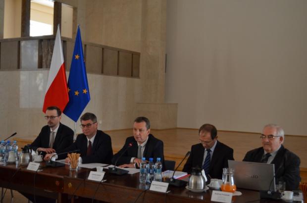 Andrzej Halicki pożegnał się z komisją wspólną