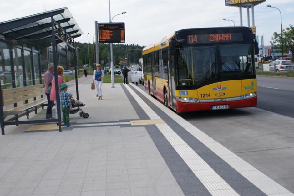 Wreszcie nowe przystanki komunikacji miejskiej w Kielcach