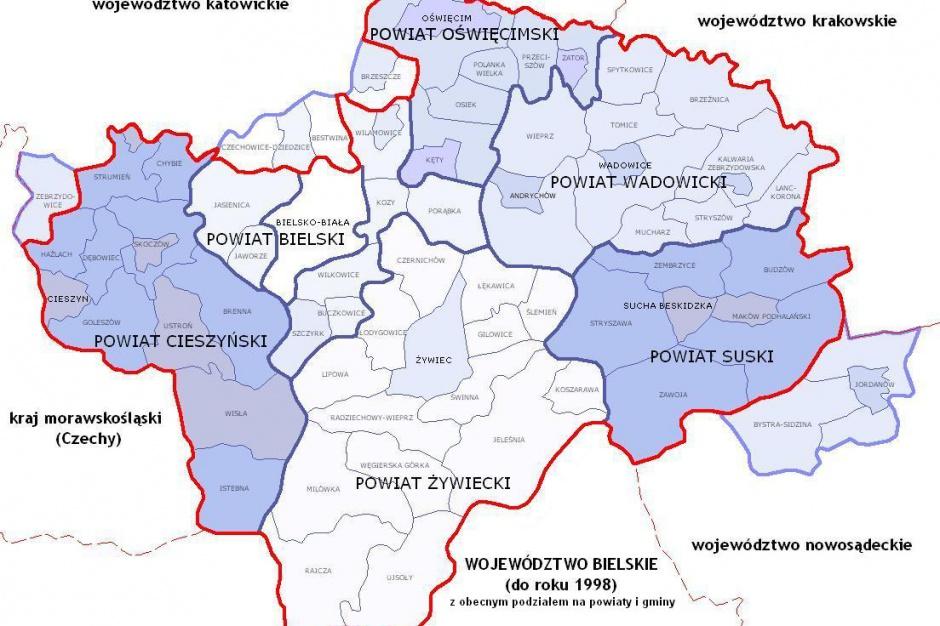Jest pomysł na czwarte nowe województwo: bielskie