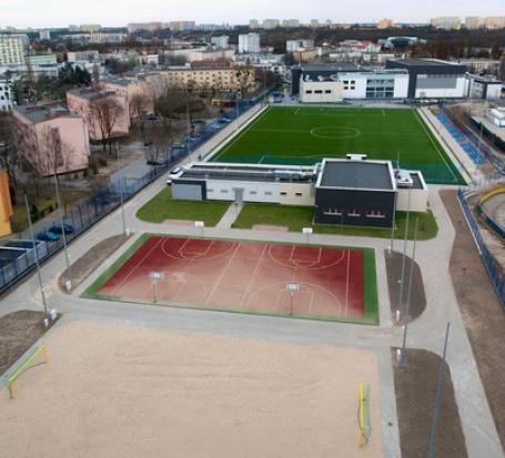 Bydgoskie centrum sportu po rozbudowie