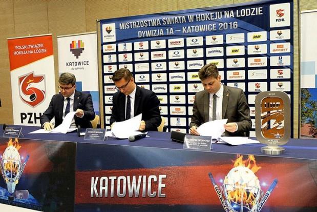 Mistrzostwa hokeja w 2016 r. w Katowicach. Miasto zapłaci 3 mln