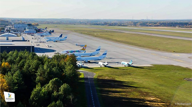 Śląsk: remont na lotnisku Katowice