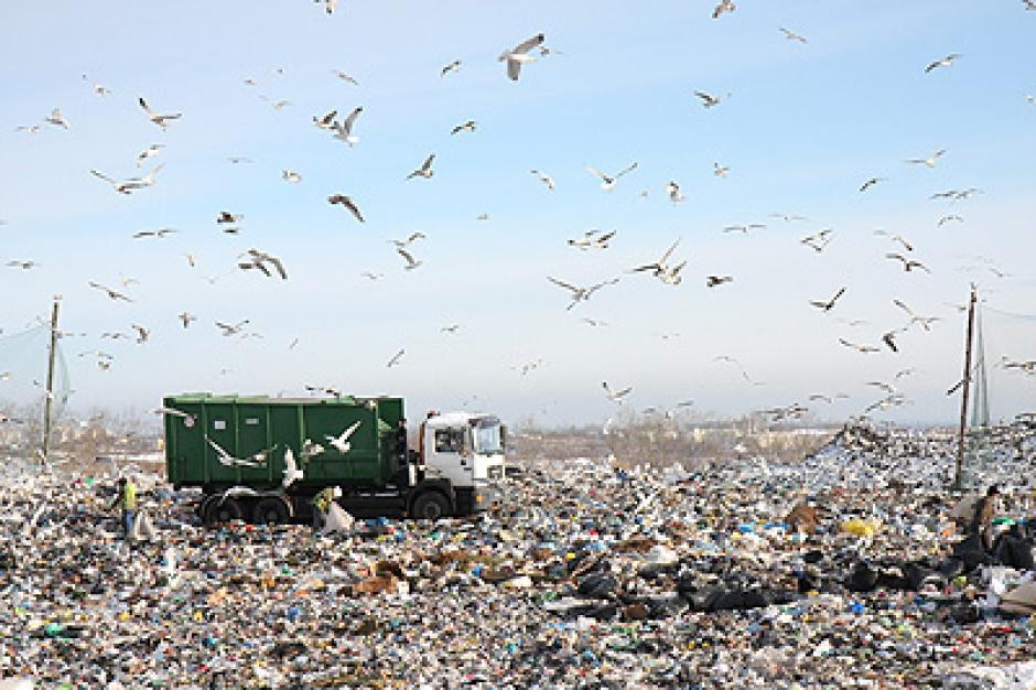 Zakład Utylizacyjny w Gdańsku produkuje kompost z odpadów mokrych