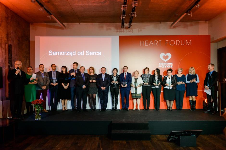Samorządy walczą o zdrowe serca