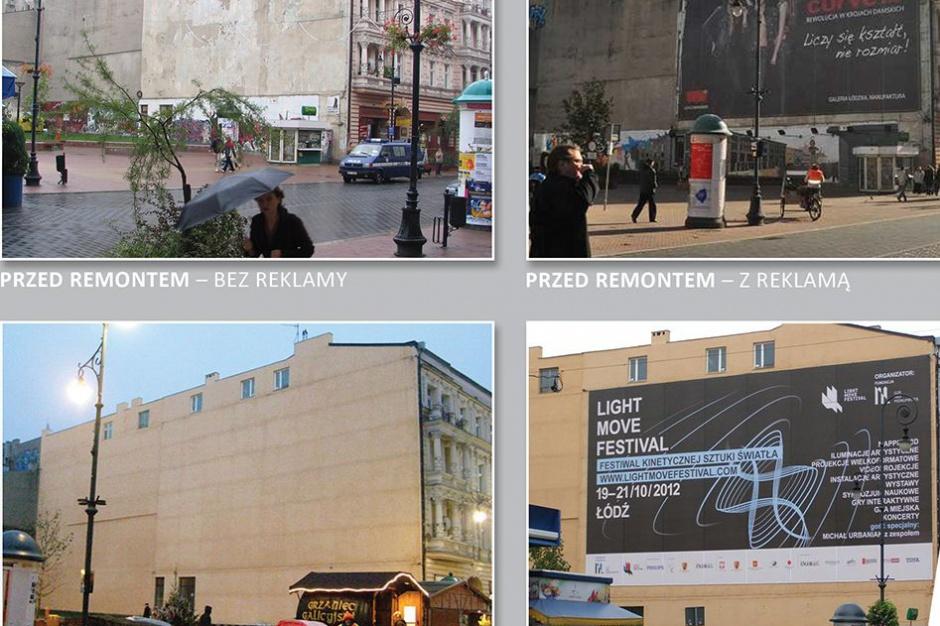 Ustawa krajobrazowa, Łódź: Kodeks reklamowy może zaszkodzić zarządcom nieruchomości