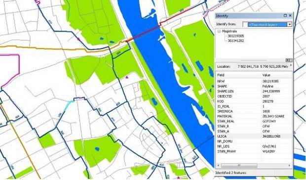 System GIS, wodociągi i kanalizacja: inwentaryzacja sieci i awarie on-line