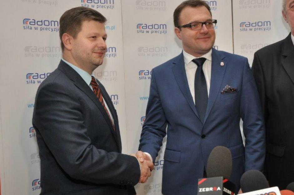 Nowy wiceprezydent Radomia będzie pracować za dwóch