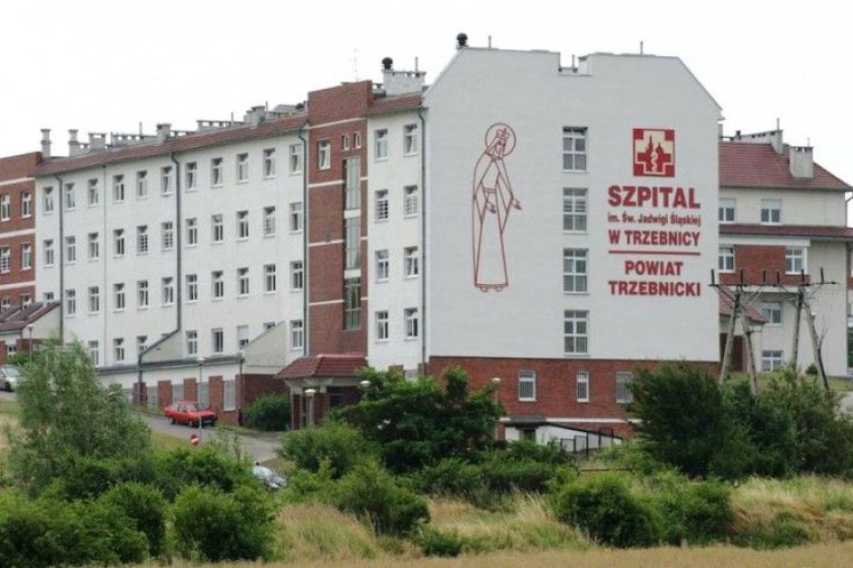 Strajk w szpitalu powiatowym w Trzebnicy