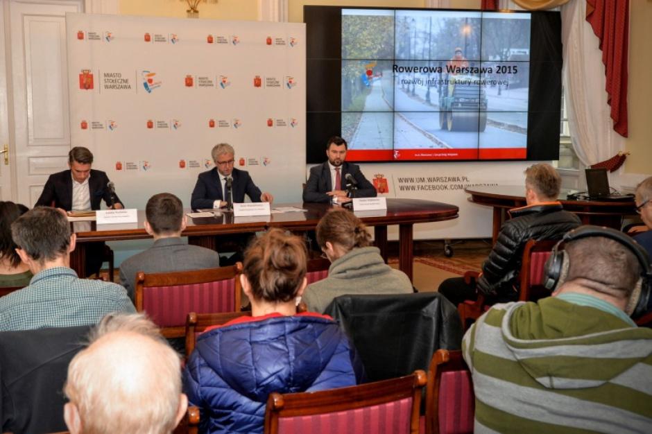 Warszawa: 130 mln zł na infrastrukturę rowerową