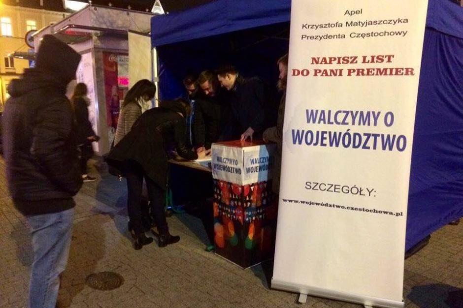 Częstochowa: radni chcą województwa częstochowskiego