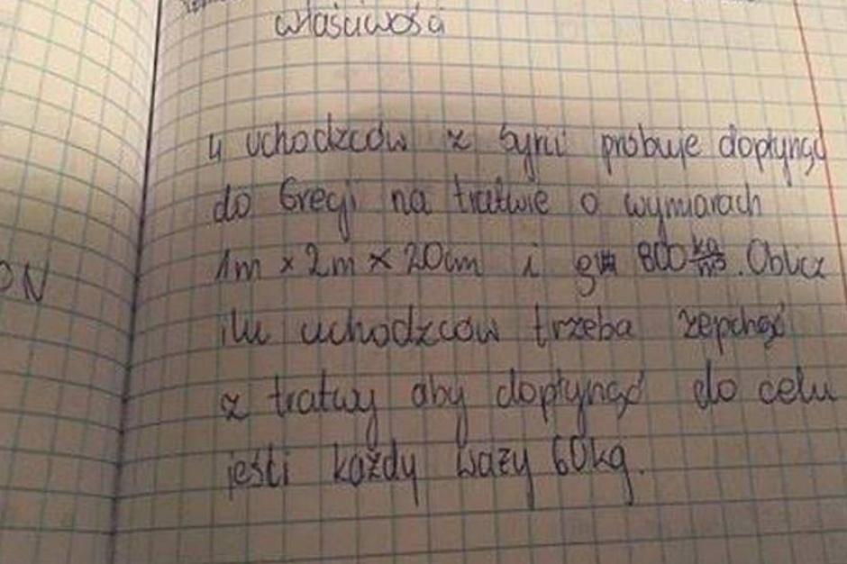 Białystok: postępowanie dyscyplinarne wobec nauczyciela od zadania o uchodźcach