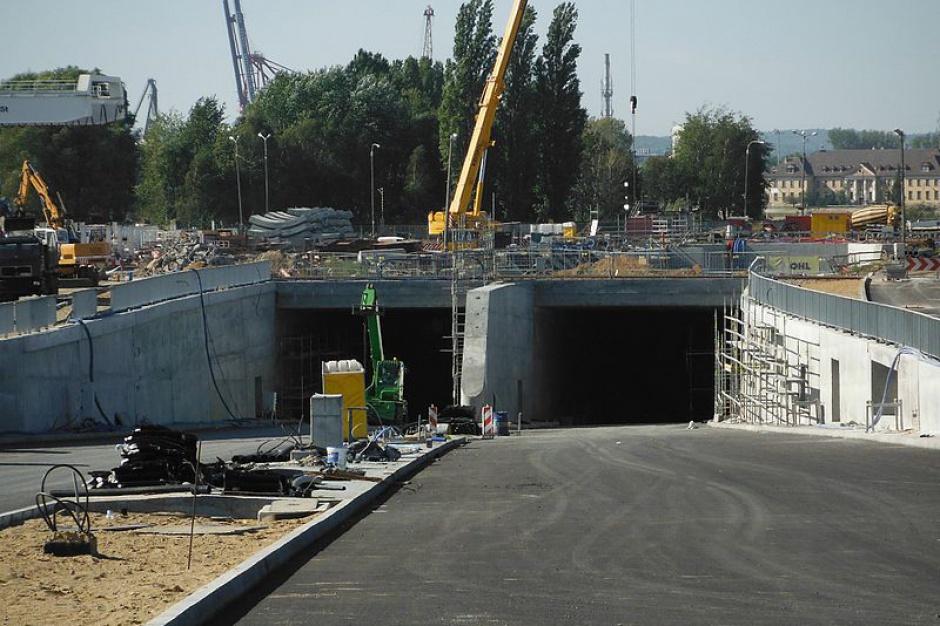 Za ok. 4 miesiące tunel pod Martwą Wisłą może być gotowy