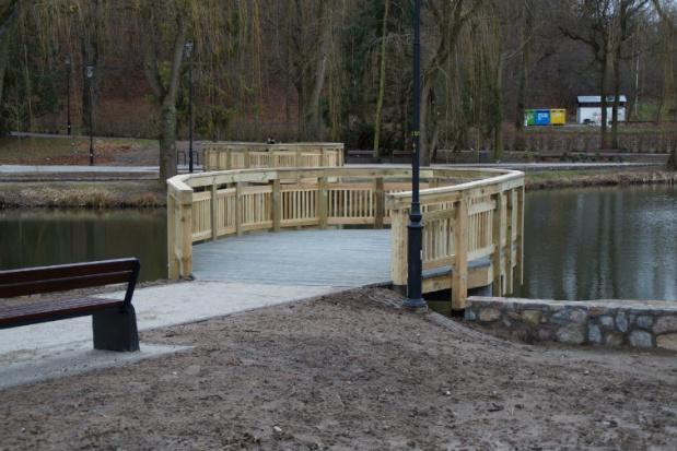 Park Oruński pięknieje zimą, by rozkwitnąć nawiosnę