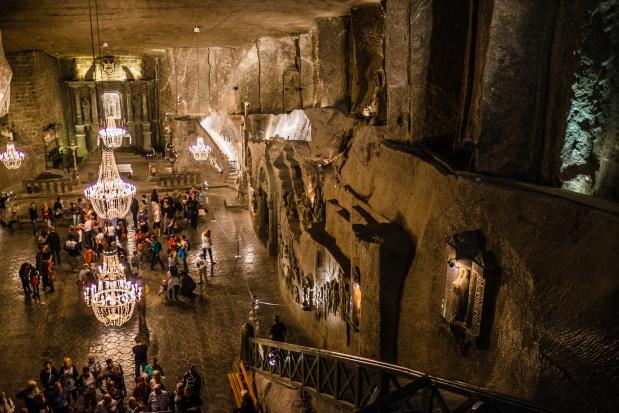 Rekordowa liczba turystów w kopalni soli Wieliczka w 2015 r.