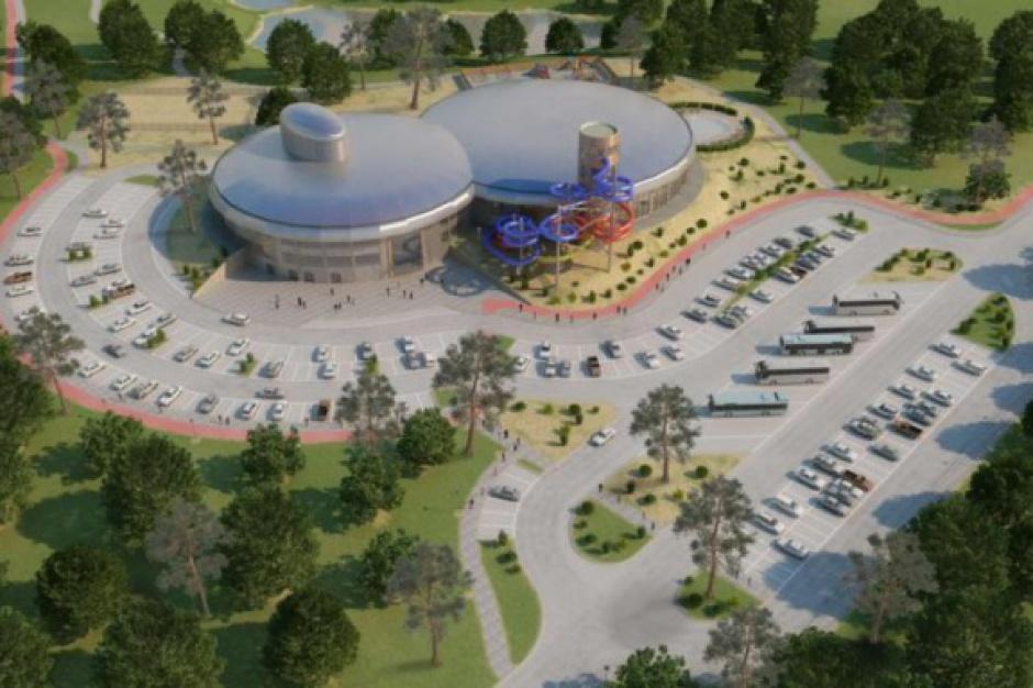 Słupsk chce dokończyć budowę aquaparku