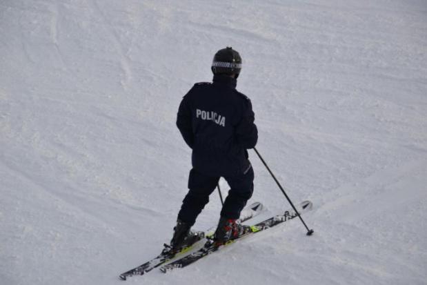 Policyjne patrole już na stokach narciarskich