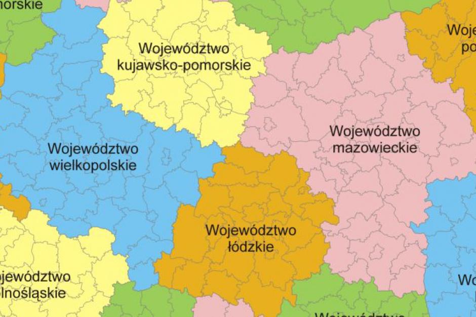 MSWiA: bez planów zasadniczych zmian w podziale administracyjnym kraju; możliwe korekty