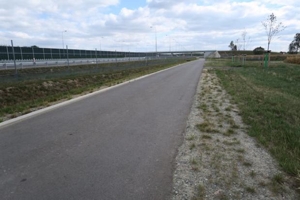 Drogi techniczne mogą posłużyć rowerzystom - fot.mat.prasowe