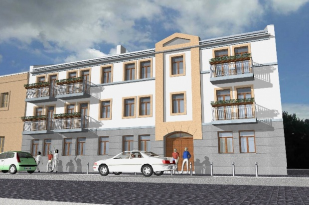 Projekt Młode Stare Miasto: Piotrków Trybunalski planuje budowę kamienic