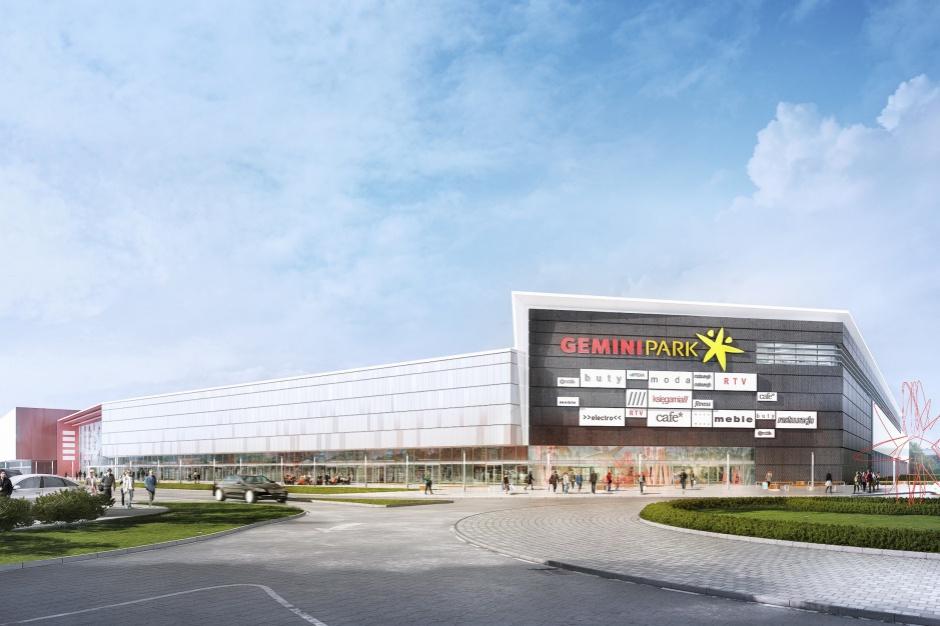 Ruszyła budowa Centrum Handlowego Gemini Park Tychy