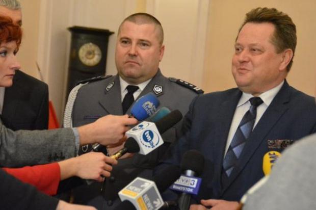 Daniel Kołnierowicz został nowym szefem podlaskiej policji