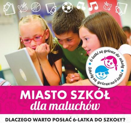 Tak zachęca rodziców do posłania dzieci do szkół łódzki magistrat - fot.lodz.pl