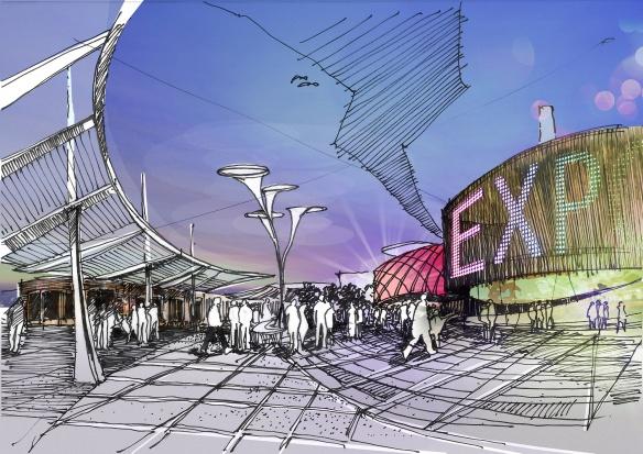 Takie są koncepcje Łodzi na zorganizowanie u siebie EXPO w 2022 r.