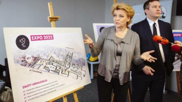 Łódź prezentuje koncepcje na EXPO 2022