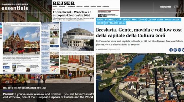 Wrocław, Europejska Stolica Kultury: światowe media zachęcają do odwiedzenia Wrocławia