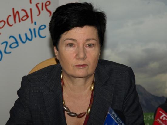Hanna Gronkiewicz-Waltz blogerką. U Lisa