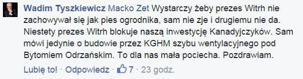 fot.Facebook.com/Wadim-Tyszkiewicz