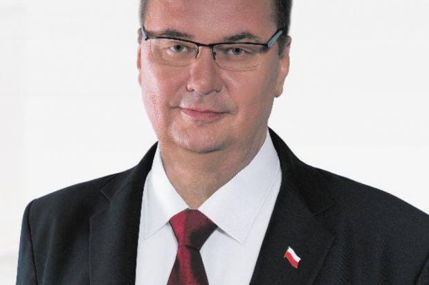 Poseł Szymon Giżyński (fot.www.parlamentarny.pl)