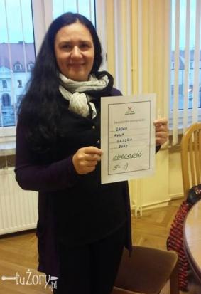 Radna Anna Gaszka z Żor. Radnych w tym mieście sprawdzał portal TuZory.pl (fot.mat.pras)