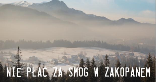 Turyści nie chcą płacić za smog w Zakopanem