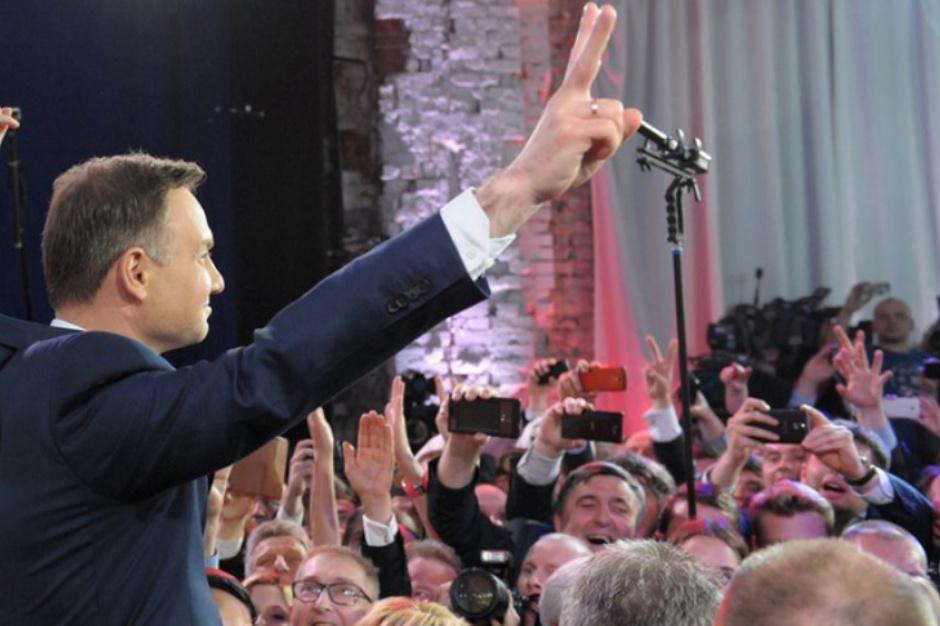 Poprawiły się notowania prezydenta Andrzeja Dudy (fot.andrzejduda.pl)