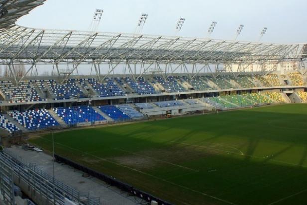 Bielsko-Biała, nowy stadion: Otwarcie dopiero w połowie 2016 r.