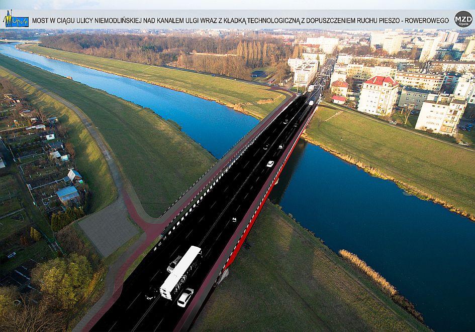 Wizualizacja mostu (fot.opole.pl)