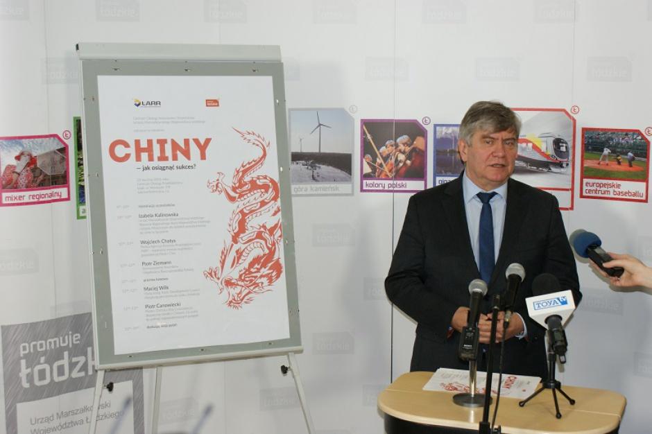 Współpraca z Chinami: Łódzkie namawia przedsiębiorców do zdobywania chińskiego rynku